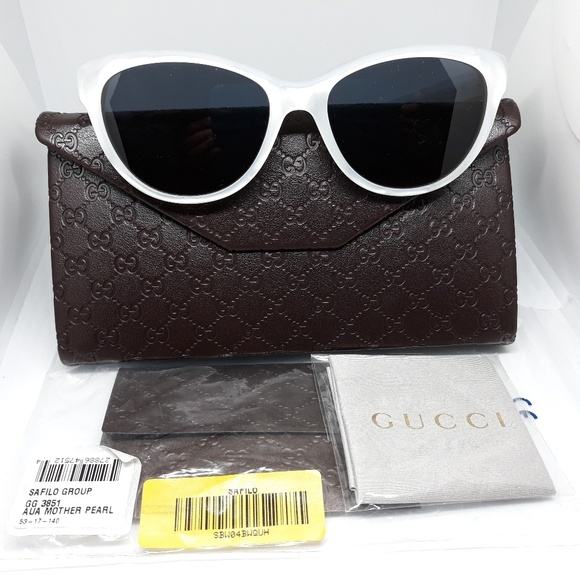1af986c62ff Authentic Gucci Sunglasses Cat Eye Mother of Pearl